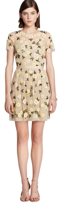 Preload https://item5.tradesy.com/images/needle-and-thread-yellow-embellished-above-knee-cocktail-dress-size-2-xs-3676504-0-0.jpg?width=400&height=650