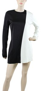 Céline short dress Black, White on Tradesy