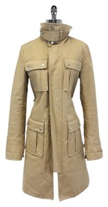 Dsquared2 Cotton Utility Trench Trench Coat