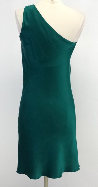 Just Cavalli Silk One Shoulder Dress