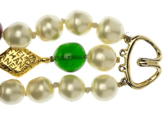Chanel Chanel Vintage Pearl and Gripoix Bracelet