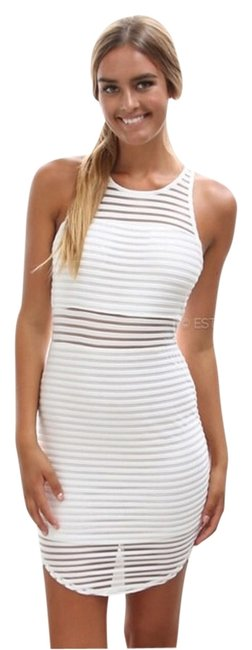 Item - White Night Out Dress Size 6 (S)
