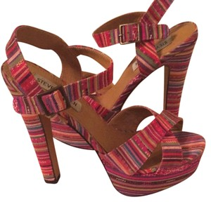 Steve Madden Multi color Platforms