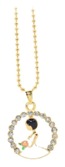 Other Cute Lady Charm Statement Necklace