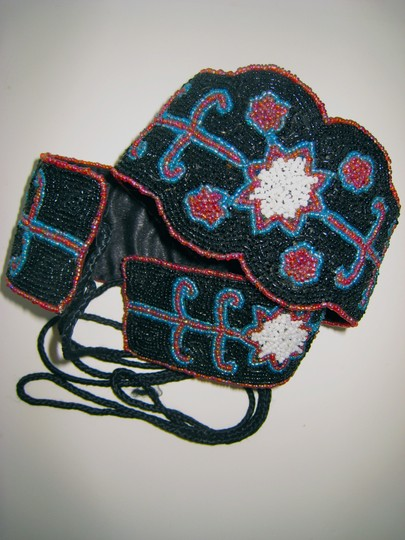 Other Vintage Hand Beaded Belt from India