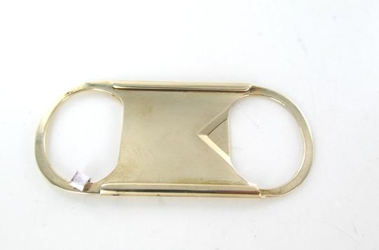 Other 14KT SOLID YELLOW GOLD CIGAR CIGARETTE CUTTER TOBACCO THIN R.S PAT DEC 02 Image 5