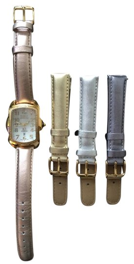 Preload https://item5.tradesy.com/images/invicta-invicta-ladies-baby-lupah-diamond-gold-tone-mother-of-pearl-watch-with-interchangeable-leather-straps-3679594-0-0.jpg?width=440&height=440