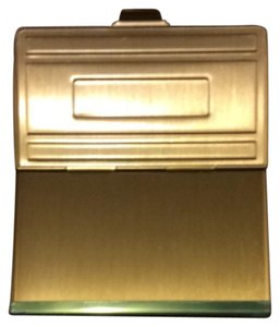 Other Engravable Gold Card Case