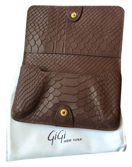 GiGi New York Chocolate Clutch