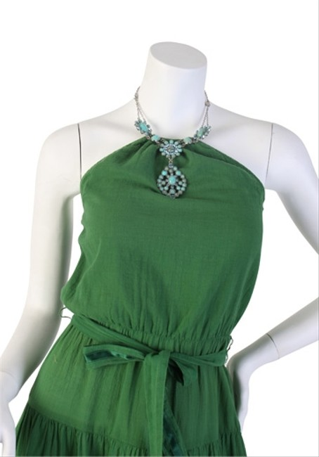 GREEN & TURQUOISE Maxi Dress by Twelfth St. by Cynthia Vincent