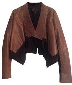 BCBGMAXAZRIA black and brown Jacket