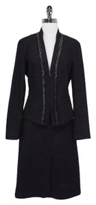 Lafayette 148 New York Premium Denim Collection Skirt Suit