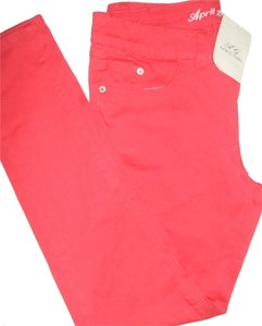 April Girl Skinny Pants Red