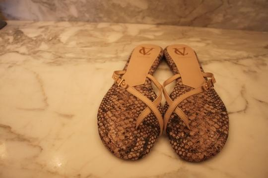 Vince Camuto Nude/snake Sandals