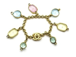 Chanel Chanel Interlocking Poured Glass Bracelet