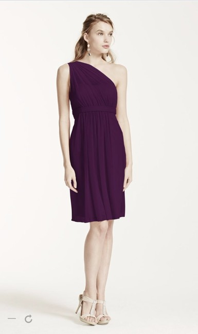 Item - Plum F15607 Modern Bridesmaid/Mob Dress Size 10 (M)