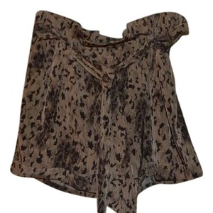 Lush Mini/Short Shorts Beige / Brown