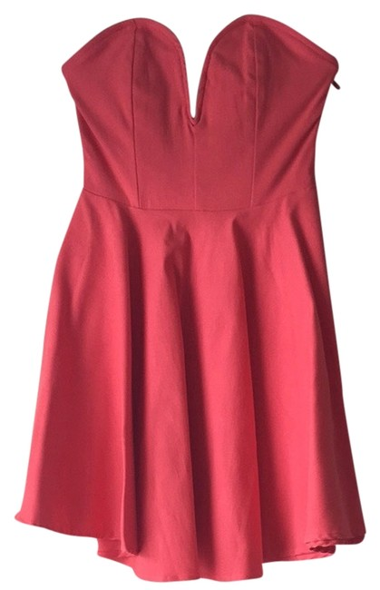 Preload https://item3.tradesy.com/images/nasty-gal-coral-cocktail-dress-size-2-xs-3681802-0-0.jpg?width=400&height=650