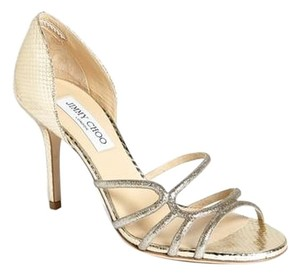 Jimmy Choo Strappy Wedding gold Formal