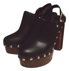 Forever 21 Black and Brown Platforms