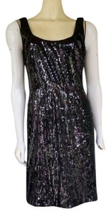 Maggy London Sequin Cocktail Sheath Dress