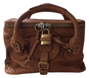 Chloé Cabas Train Case Chloe Convertible Satchel in Brown