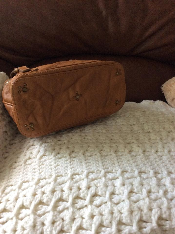 Satchel Chloé Brown Cabas Small Leather T4w4xBvq