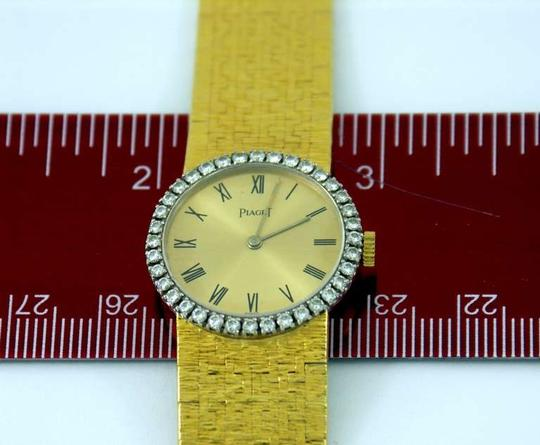 Piaget Lady's Yellow Gold and Diamond Bracelet Watch circa 1975 Piaget Lady's Yellow Gold and Diamond Bracelet Watch circa 1975