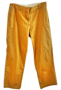 Bass Pinstripe Trouser Pants camel
