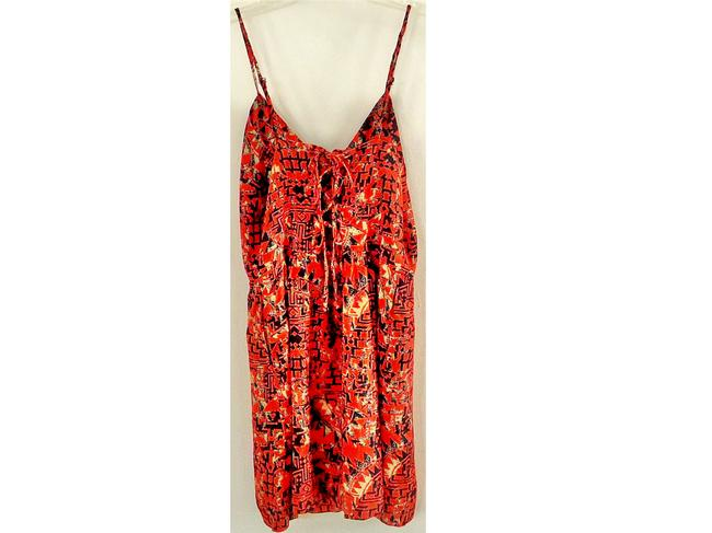 Dolce Vita short dress red Lace Trim on Tradesy