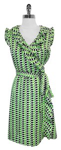 Kate Spade short dress green & navy on Tradesy