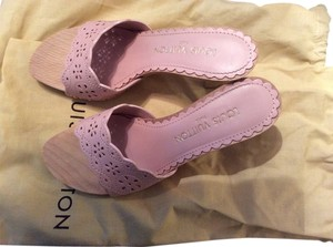Louis Vuitton Mule Studes Laser Cut Marshmallow/ light pink Mules