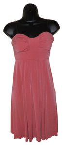 BCBG Paris Strapless Stretchy Dress