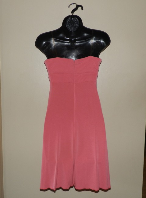 BCBG Paris Strapless Stretchy Summer Party Dress