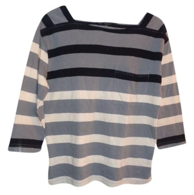 Preload https://img-static.tradesy.com/item/3685219/marc-by-marc-jacobs-grey-black-and-white-stripe-shirt-with-pocket-sweaterpullover-size-2-xs-0-0-650-650.jpg