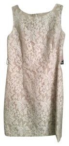 Leslie Fay Lace Emboirdered Wedding Dress