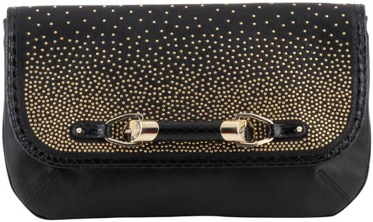Preload https://img-static.tradesy.com/item/3685909/jimmy-choo-zora-dgrad-stud-gold-black-leather-clutch-0-2-540-540.jpg