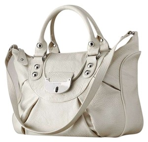 Jennifer Lopez Satchel in White