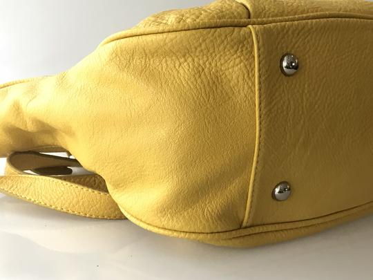 Jennifer Lopez Satchel in Yellow