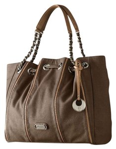 Jennifer Lopez Tote in Dark Nomad