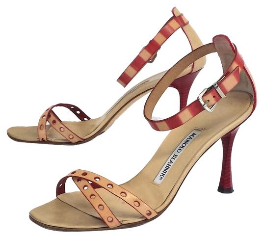 Preload https://item5.tradesy.com/images/manolo-blahnik-nude-and-red-leather-heels-sandals-size-us-7-3687154-0-0.jpg?width=440&height=440