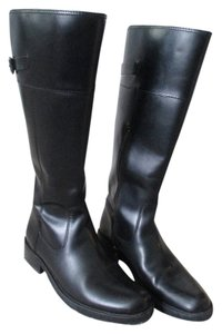 Eddie Bauer Wide-calf Black Boots