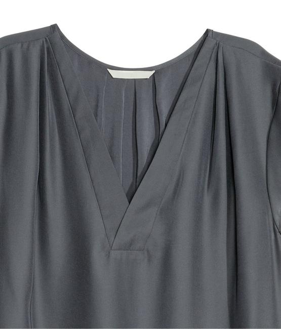 H&M V-neck Hm Handm Top Dark Grey