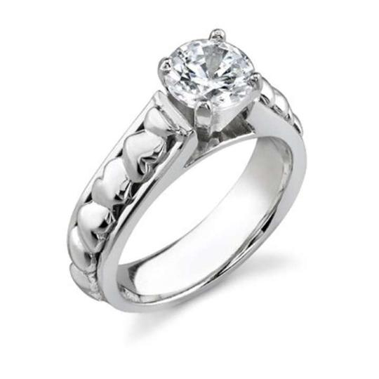 Preload https://img-static.tradesy.com/item/368955/apples-of-gold-white-14-carat-diamond-heart-14k-engagement-ring-0-0-540-540.jpg