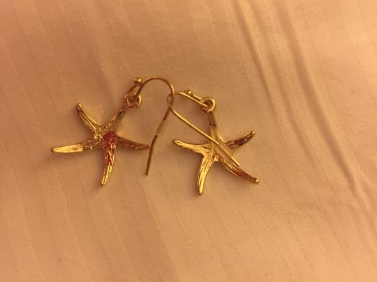 Other Gold Tone Star Earrings