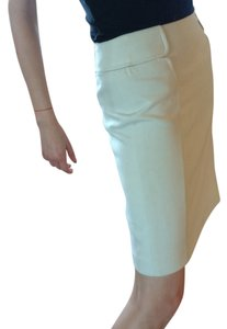Banana Republic Office Attire Skirt Light Beige