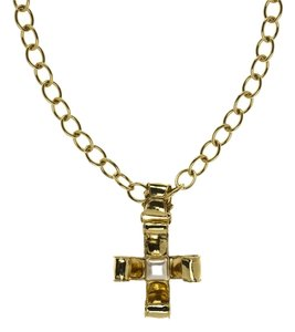 Chanel Chanel Vintage Cross Pendant Necklace