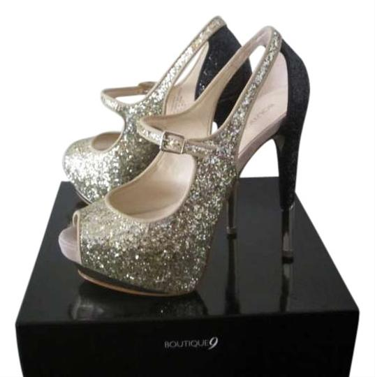 Preload https://item1.tradesy.com/images/boutique-9-gold-glitter-pumps-size-us-75-369170-0-1.jpg?width=440&height=440
