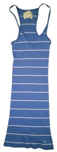 Abercrombie & Fitch Top Blue/White striped