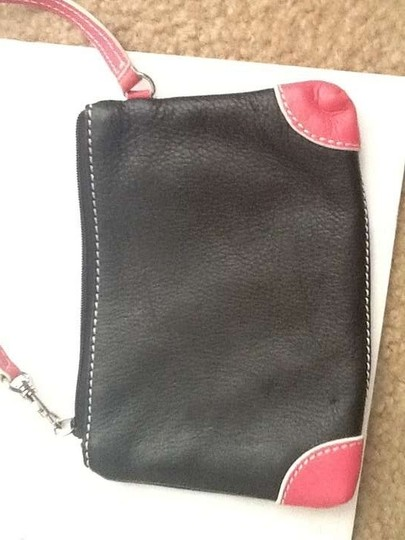 Other Wristlet in Black pink trim